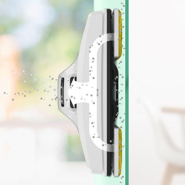 HOBOT 298 robotski čistilec steklenih površin s funkcijo pršenja 4